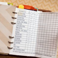 My Personal Filofax Set Up / Tour--Mrs. Brim--great idea for cleaning!