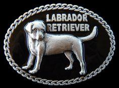 LABRADOR RETRIEVER PET DOG PUPPY CHAIN 3D QUALITY  BELT BUCKLE BELTS BUCKLES