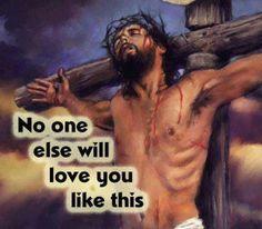 JOHN  3:16 AMEN...NO ONE!!!