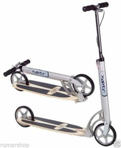 BRAND NEW XOOTR PUSH KICK CITY SCOOTER MODEL CRUZ ULTRA + FENDER | £235