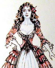 """Phantom of the Opera"", Christine's ""Aminta"" dress, (Maria Bjornson)"