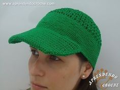 Como fazer boné de cauda longa em crochê | Passo a Passo Iniciantes |Parte 2 | Aprender Croche - YouTube