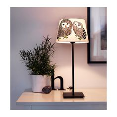 IKEA GULÖRT GULORT table light lamp Shade, owl/Brand New in Home, Furniture & DIY | eBay