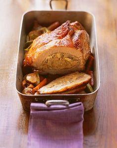 Découvrez cette recette de rôti de veau farci aux champignons. Un plat familial qui s'apprécie encore plus le dimanche !