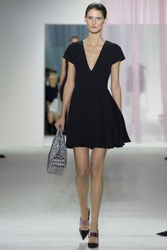 Christian Dior SS2013 - one of those dresses that instantly makes a woman look pulled together, even though it takes minimal effort to wear.