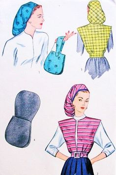 40s Snood Style Hat, Handbag and Jacket Pattern Simplicity 1543 Fab Swing Era Accessories Vintage Sewing pattern FACTORY FOLDED di SoVintageOnEtsy su Etsy https://www.etsy.com/it/listing/215705561/40s-snood-style-hat-handbag-and-jacket