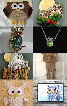 I LOVE OWLS by Carol on Etsy--Pinned with TreasuryPin.com