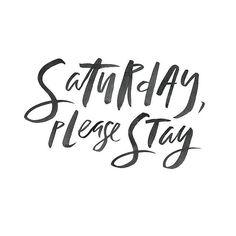 Saturday, Please Stay ♡♕❥✧➳ Pinterest: miabutler Facebook.com/groups/miasmakeup