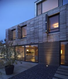 In The Middle Of The Village by STEINMETZDEMEYER - CAANdesign | Architecture and home design blog