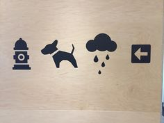 Directions to the dog park in the Amazon building in Seattle