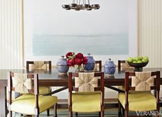 Home design and interior decorating is what VERANDA magazine is all about. Dining Chairs, Dining Table, Dining Rooms, Dining Area, Ikea Chairs, Home Design Images, Townhouse Designs, Interior Decorating, Interior Design