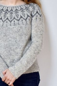 Sweater Knitting Pattern Altheda By Jennifer Steingass This Is A ! strickmuster für pullover altheda von jennifer steingass dies ist a. modèle de tricot de pull altheda par jennifer steingass this is a Sweater Knitting Patterns, Afghan Crochet Patterns, Hand Knitted Sweaters, Fair Isle Knitting, Free Knitting, Sport Weight Yarn, Dk Weight Yarn, Garter Stitch, Ravelry