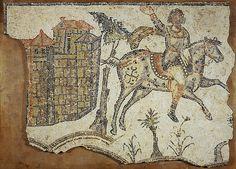 'Vandal' Horseman Mosaic at the British Museum