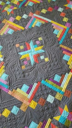 53 ideas longarm quilting ideas inspiration fabrics for 2019 Machine Quilting Patterns, Longarm Quilting, Free Motion Quilting, Quilting Projects, Quilt Patterns, Quilting Ideas, Hand Quilting, Sewing Projects, Angry Birds