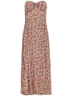 Red printed maxi dress - Dresses $35 and under  - Dresses