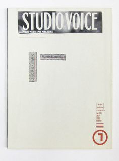 Great Margiela special of the Studio Voice.