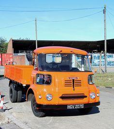 HGV 207E. Morris truck, visiting Ipswich Transport Museum, 5th. October 2014.