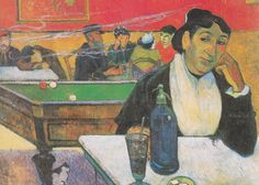 Paul Gauguin Night Cafe at Arles painting for sale, this painting is available as handmade reproduction. Shop for Paul Gauguin Night Cafe at Arles painting and frame at a discount of off. Henri Matisse, Henri Rousseau, Paul Gauguin, Vincent Van Gogh, Georges Seurat, Impressionist Artists, Pics Art, Oil Painting Reproductions, Art Moderne