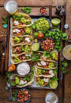 loaded grilled chicken tacos l dennistheprescott. - loaded grilled chicken tacos l dennistheprescott… La mejor imagen sobre fall recipes para tu gust - Grilled Chicken Tacos, Mexican Grilled Chicken, Healthy Chicken Tacos, Taco Chicken, Veggie Tacos, Grilled Food, Clean Eating, Healthy Eating, Food Platters