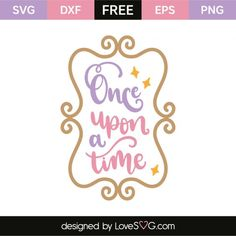 Once upon a time Cricut Vinyl, Svg Files For Cricut, Cricut Craft, Disney Girls Room, Disney Rooms, Girl Silhouette, Silhouette Cameo, Silhouette Files, Silhouette Projects
