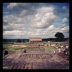 Wroxeter Roman City in Wroxeter, Shropshire