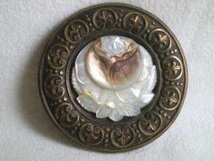 bouton ancien nacre en vente | eBay