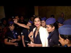 WATCH Sonam Kapoor hosts special screening of NEERJA for INDIGO Airline Air Hostesses. See the full video at : https://youtu.be/rDvu8vNX6aE #sonamkapoor #neerja
