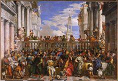 Les Noces de Cana de Paolo Caliari dit Véronèse (Musée du Louvre)