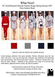 #MonclerGammeRouge #GiambattistaValli #SS17 #fashion #MonclerGammeRougeSS17 #fashionindustry #ParisFashionWeek #PFW #fashionista #kepihat #FrenchMilitaryUniforms #runway #France #fashionweek #fashionforecast #fashiontrends #moncler #womenswear #lacedress #priyachander #WhatNextPCtrendResearch #style #fashionblogger #fashionblog #Frenchheritage #moda #fashionforward #fashionnews #white #red #Frenchvibe