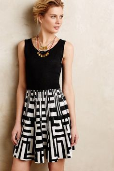 Stripe Maze Petite Sweater Dress - anthropologie.com #anthrofave