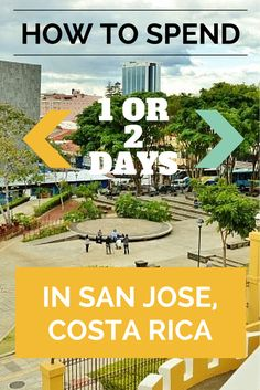 Have to stay overnight in San Jose because of an early or late flight? Fear not, there are plenty of fun things to do. Here's some recommendations for the best museums, shopping, and restaurants for your short stay in San Jose, Costa Rica Costa Rico, San Jose Costa Rica, Oh The Places You'll Go, Places To Travel, Places To Visit, Puntarenas, Costa Rica Adventures, Fear Of Flying, Costa Rica Travel