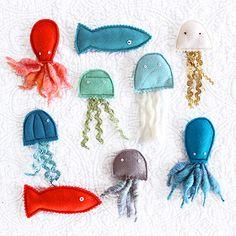 Do Unto Animals: DIY Catnip Sea Creatures |Moomah the Magazine