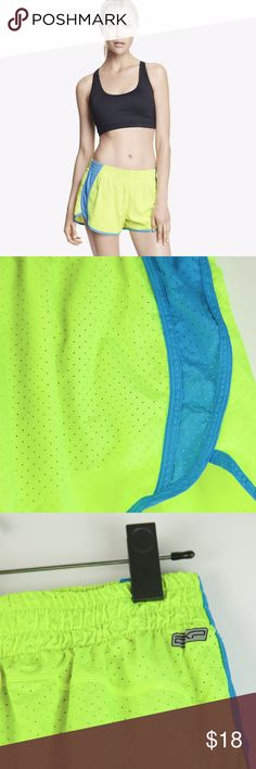 """Express Exp Core Performance Running Shorts Express Exp Core Performance mesh running shorts. Color is a bit more muted in person. Excellent pre-loved condition - barely worn!  🔹 100% Polyester; Lining: 88% Polyester, 12% Spandex 🔹 Waist measures approx. 13.25"""" (unstretched) 🔹 Front rise approx. 10.25"""" 🔹 Inseam approx. 3.5"""" 🔹 Dog friendly/smoke free home Express Shorts"""