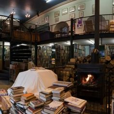 Leakey's Bookshop, Church Street, Inverness, UK. It's Scotland's largest secondhand bookshop and it's been housed for the last 20 years in the old Gaelic Church (1793)