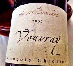El Alma del Vino.: François Chidaine Vigneron Vouvray Le Bouchet 2006.
