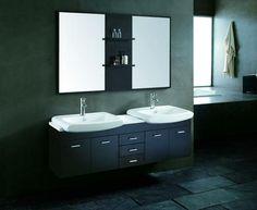 double sink vanities for bathroom #35