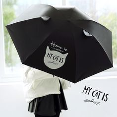 Mori Girl Dress Umbrella on Mori Girl の森ガール.Minimalist Cute Cartoon Animal Umbrella Uv Protection Mg324 always protected from the rain, strong wind, snow and UV.Perfect design to make it stand up totally on its own when closed, but not held tight by the velcro close strap, saving much space.