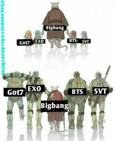 It kind of annoys me how true this is, however master shifu is still the 'master' so everyone should also know these BIGBANG are the 'KINGS OF KPOP' ‼️