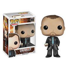 FINALLY! Supernatural Crowley Pop! Vinyl Figure - Funko - Supernatural - Pop! Vinyl Figures at Entertainment Earth