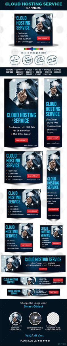 Hosting Web Banner Design Set Template PSD | Buy and Download: http://graphicriver.net/item/hosting-web-banner-design-set/8970377?WT.ac=category_thumb&WT.z_author=doto&ref=ksioks