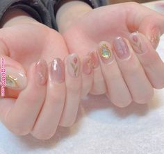 Pin by Hyn on 네일 in 2019 | Korean nails, Nail designs, Minimalist nails      Pin by Hyn on 네일 in 2019 | Korean nails, Nail designs, Minimalist nails