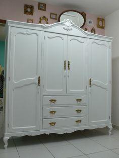 Ateliando - Customização de móveis antigos: Quarto Customizado da Alessandra