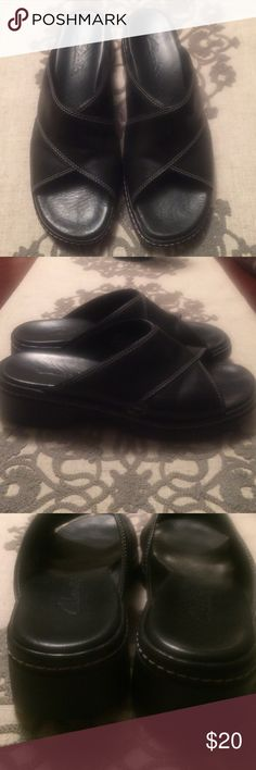 Clarks shoe Gently worn. No scuffs Clarks Shoes