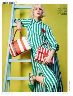 Accessories: Juliette Fazekas by Sophie Delaporte for Vogue Russia March 2016 - Dolce&Gabbana Spring 2016