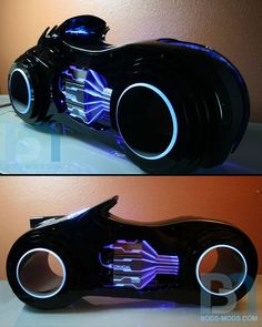 Custom PC case - Tron homage