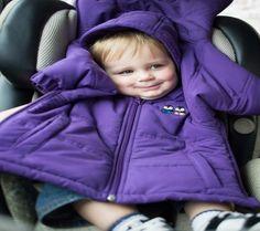 Cozywoggle The Carseat-Safe Jacket | Disney Baby