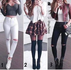 Teenage girl outfits, cute outfits for school, cute fall outfits, chic outf Teenager Outfits, Teenager Mode, Teenage Girl Outfits, Teen Fashion Outfits, Mode Outfits, Cute Fashion, Outfits For Teens, Dress Outfits, Girl Fashion