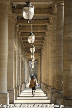 Palais Royal in Paris, France from www.kevingeorge.photoshelter.com