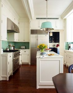 Kitchen Cabinet Ideas. Floor to ceiling kitchen cabinet design. The cabinetry and details of the kitchen are integrated floor to ceiling. #KitchenCabinet Studio 511