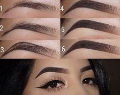 Eyebrow tutorials - - Eyebrow tutorials Beauty Makeup Hacks Ideas Wedding Makeup Looks for Women Makeup Tips Prom Makeup ideas. Eyebrow Makeup Tips, Makeup 101, Skin Makeup, Makeup Inspo, Eyeshadow Makeup, Beauty Makeup, Makeup Looks, Makeup Eyebrows, Makeup Ideas